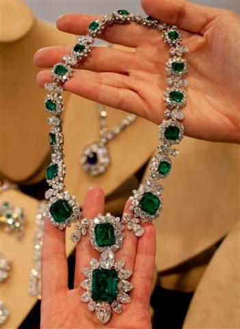 Elizabeth Taylor Emerald Necklace