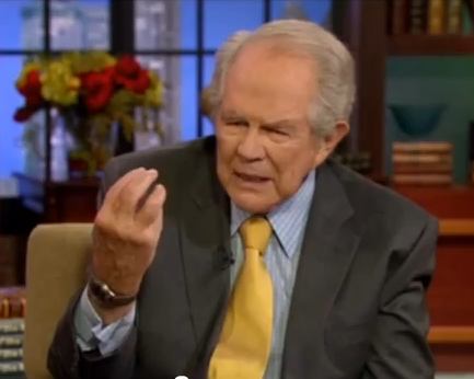 Pat Robertson says its just fine to divorce when your spouse has Alzheimers