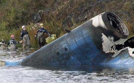 Russia Hockey Team Plane Crash