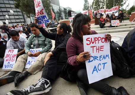 DREAM Act Rally in Fresno