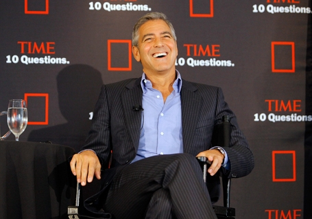 TIME Live 10 Questions With George Clooney