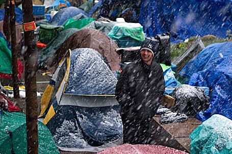 occupy snow
