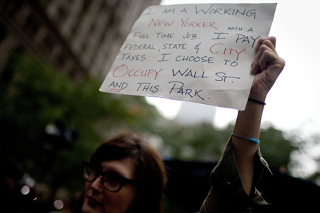 Wall Street Protests Continue