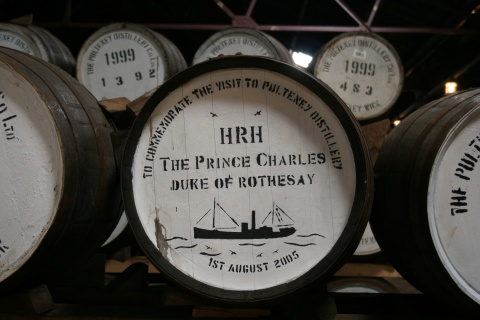 The Old Pulteney distillery in Wick, Scotland, produced a sp