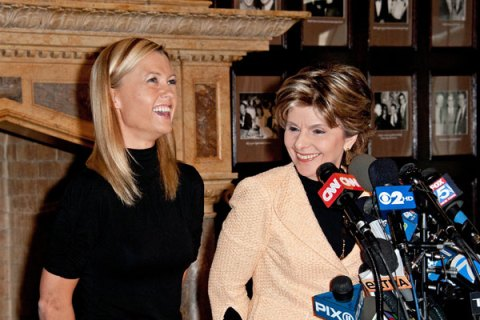 Gloria Allred and Ginger Lee