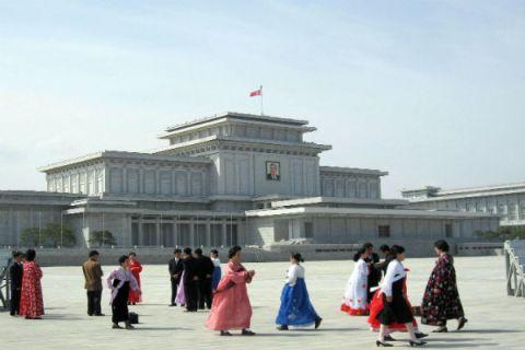 Kumsusan Memorial Palace, North Korea