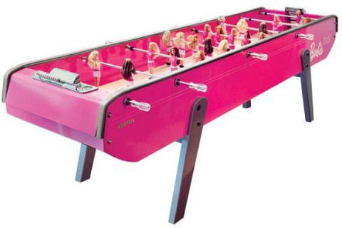 Barbie Bonzini Foosball Table