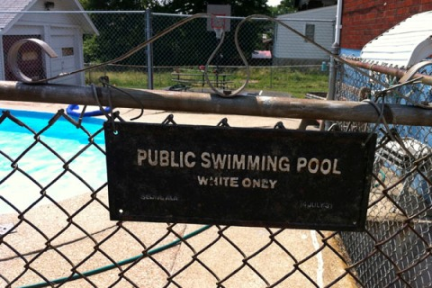 Landlord White Only Pool