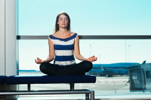 SFO opens a yoga room