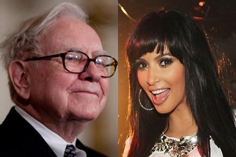 Buffett and Kardashian