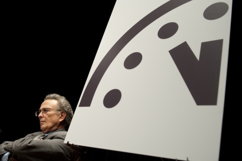Robert Socolow, a professor at Princeton with the Doomsday Clock