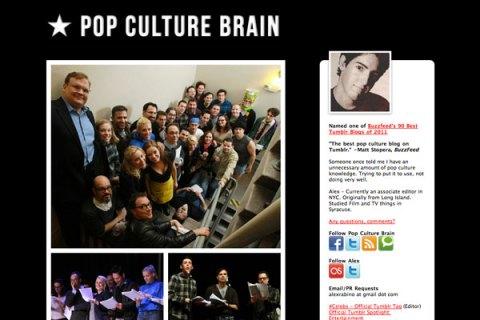 Pop Culture Brain