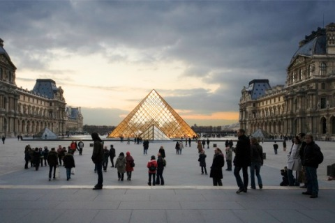 Louvre the world's most-visited museum