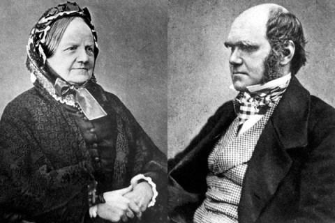 Charles Darwin and Emma Wedgwood