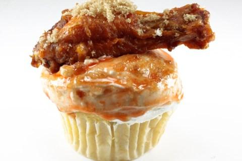 Chicken Wing Cupcake