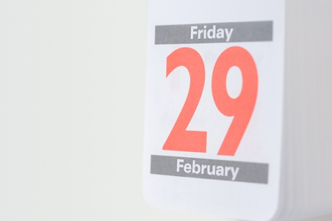 Twenty ninth february on a calendar, Leap Year