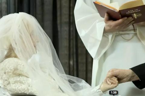 Elderly Bride