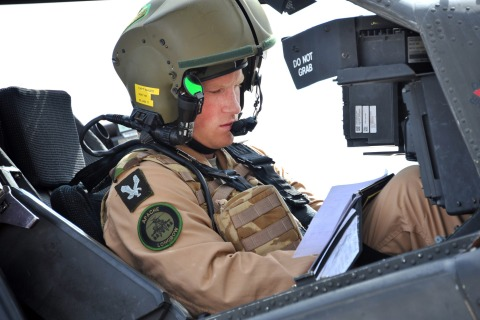 Prince Harry - Army Air Corps Apache Training
