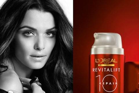 Rachel Weisz banned L'Oréal ad