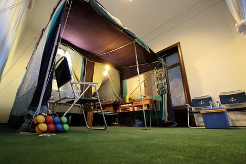 Mortierbrigade Hotel Tent Room