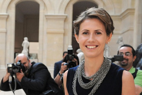 Syrian President Bashar al-Assad's wife
