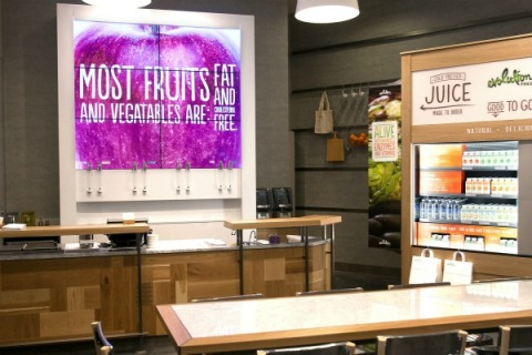 Evolution Fresh juice chain by Starbucks opens first location