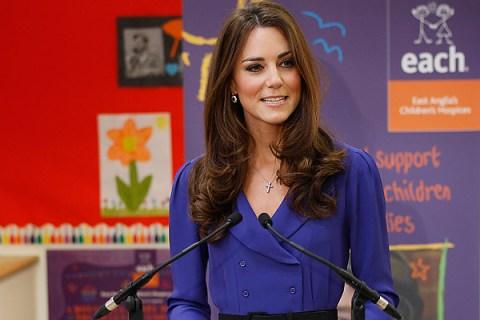 Kate Middleton Solo Speech
