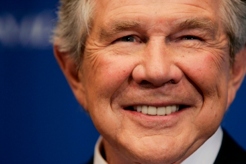 Pat Robertson Speaks At National Press Club