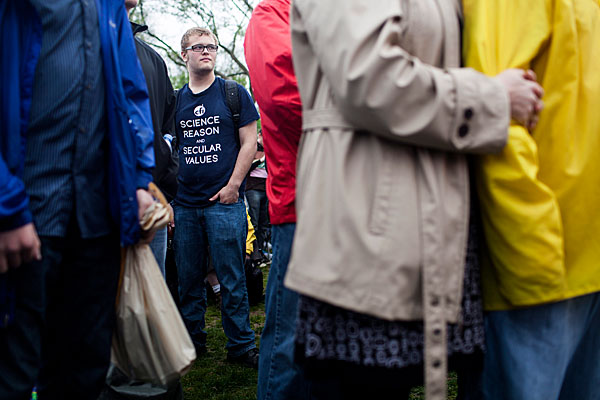 Atheists Gather for Reason Rally in Washington, D.C.