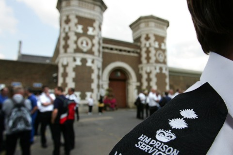 Prison Officers Stage A 24 Hour Walkout