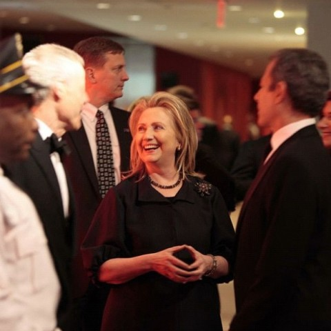 Secretary of State Hillary Clinton at the TIME 100 gala
