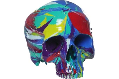 Hallucinatory Head, by Damien Hirst