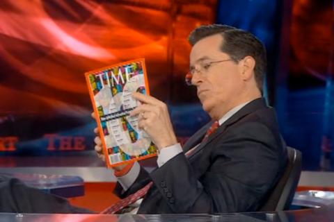 Colbert TIME 100