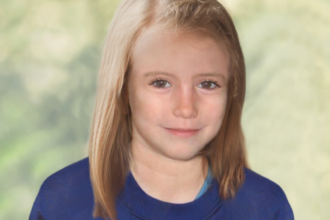 Madeleine McCann police image nine years old