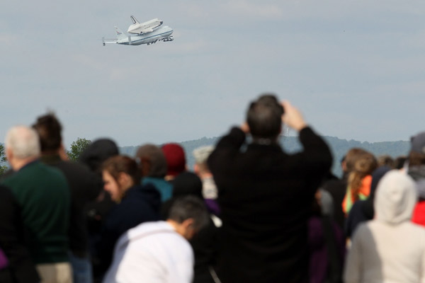 The Space Shuttle Enterprise Moves to New York City