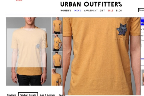 urban outfitters screengrab