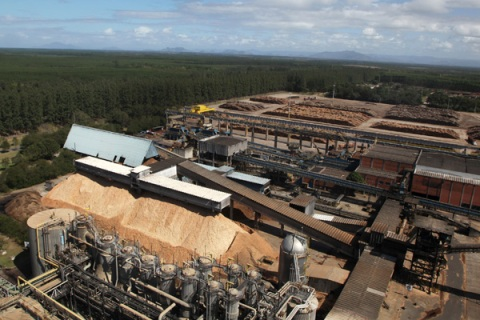 Fibria Celulose Plant in Espirito Santo, Brazil