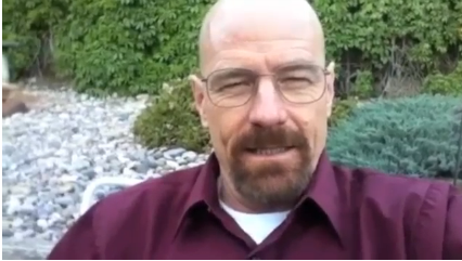 Brian Cranston as Walter White