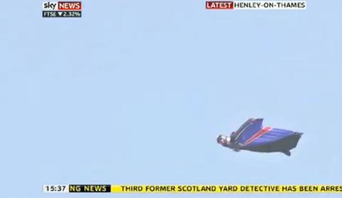 skydive, no parachute