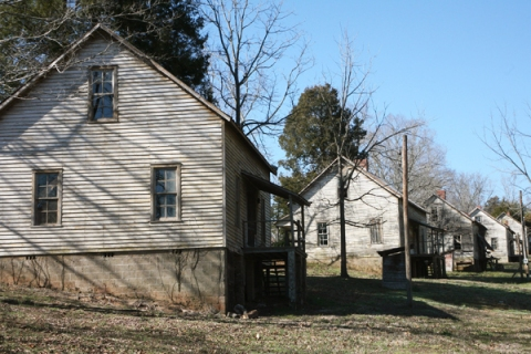 Henry River Mill Village in Hildebran, N.C