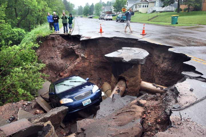 Flooding in Duluth, MN
