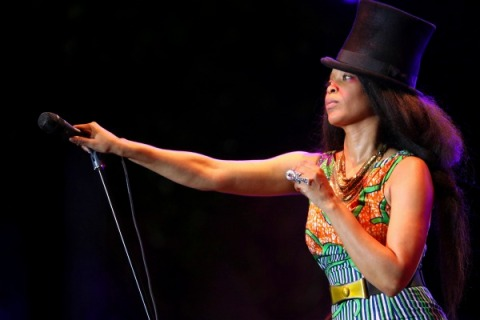 Erykah Badu Feuding with Flaming Lips' Wayne Coyne