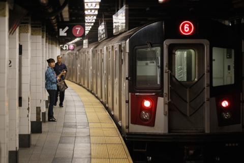 New Yorkers Face Morning Commute One Day After Hurricane Hits City