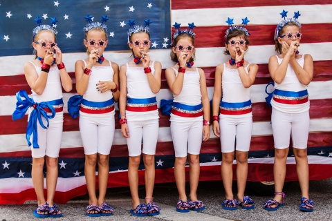 South Carolina Town Holds Annual 4th Of July Parade