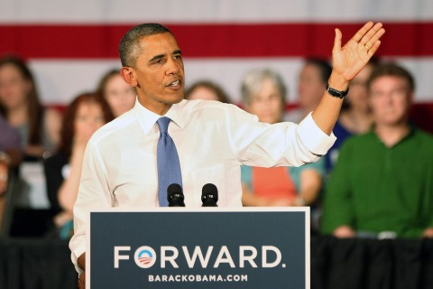 Obama Delivers Remarks In West Palm Beach As Part Of 2-Day FL Campaign Swing