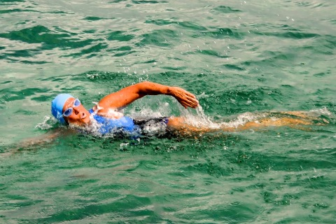 Woman Attempts To Swim The Florida Straits Without Shark Cage