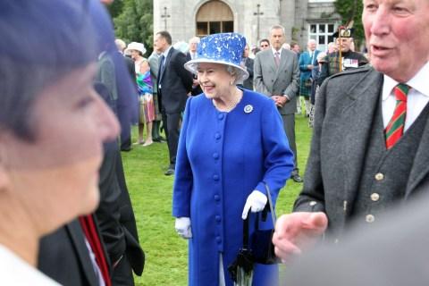 Queen Elizabeth II Hosts Garden Party at Balmoral Castle