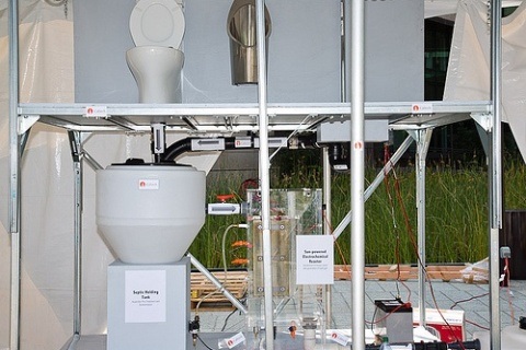 The winning Caltech design for the Reinvent the Toilet challenge