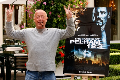 "Director Tony Scott poses during a photocall to promote his lastest film ""The Taking of Pelham 123"" in Paris"