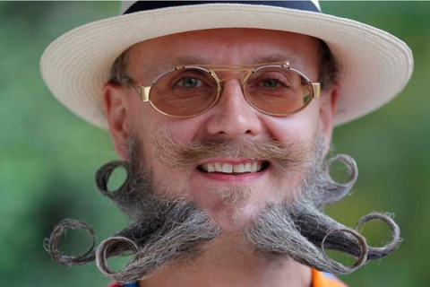 2012 European Beard and Moustache Championships in Wittersdorf near Mulhouse